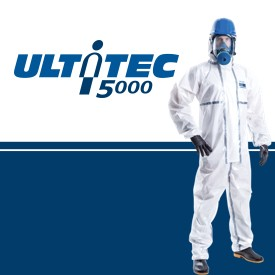 ULTITEC 5000 High-level Chemical & Liquid Jet Resistant Protective Coverall
