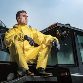 Chemical protection protective clothing